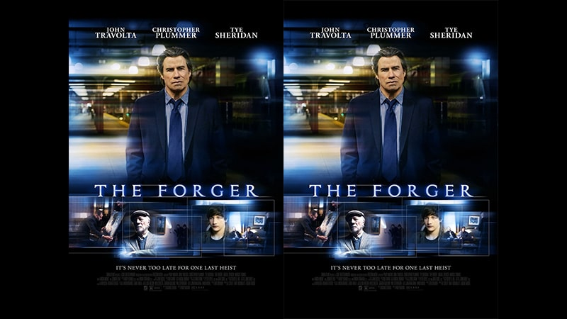 Film The Forger 2014 - Poster