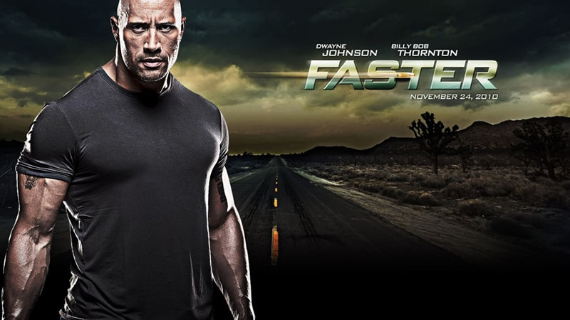 Review Film Faster (2010) - Poster