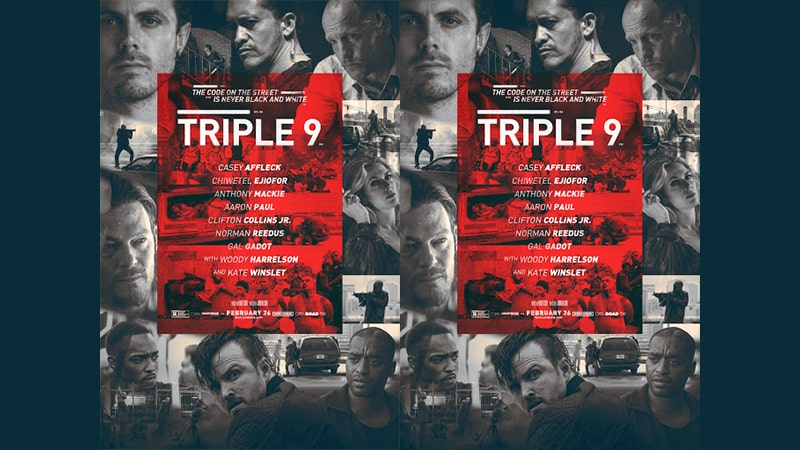 Review Film Triple 9 - Poster