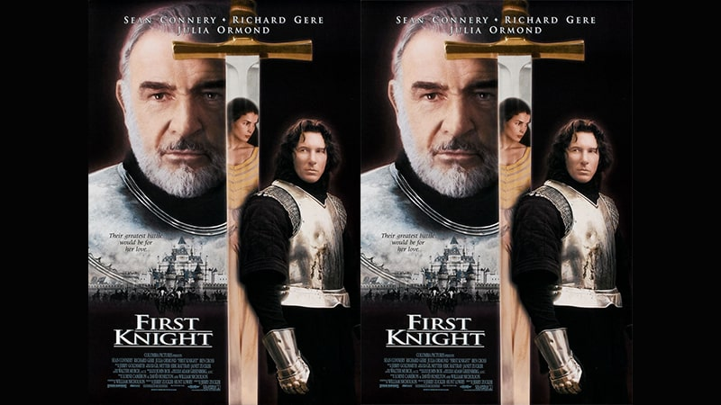Review Film First Knight (1995) - Poster Resmi