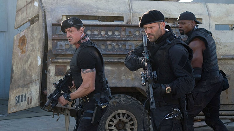 Review Film The Expendables 2 (2012) - Cutscene