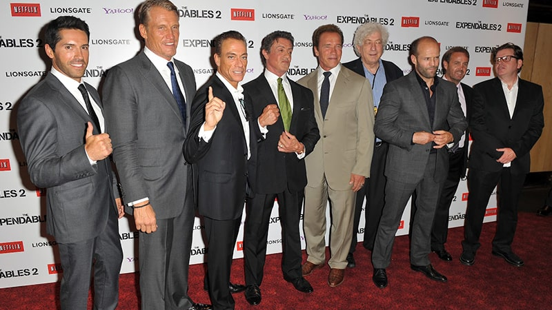 Review Film The Expendables 2 (2012) - Pemeran