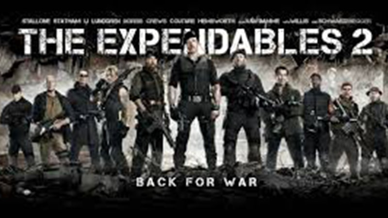 Review Film The Expendables 2 (2012) - Poster